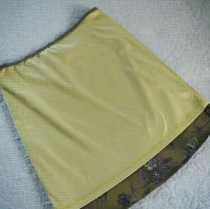 XOXO Skirts - Vintage Chiffon Floral XOXO Skirt Size M Like 🆕️
